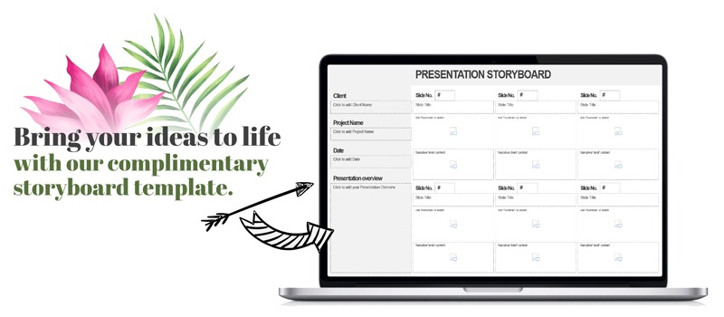 presentation storyboard template